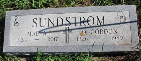 SUNDSTROM, O. GORDON - Union County, South Dakota | O. GORDON SUNDSTROM - South Dakota Gravestone Photos
