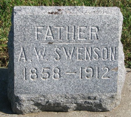 """SWENSON, ANDREW WILLIAM """"WILL"""" - Union County, South Dakota   ANDREW WILLIAM """"WILL"""" SWENSON - South Dakota Gravestone Photos"""