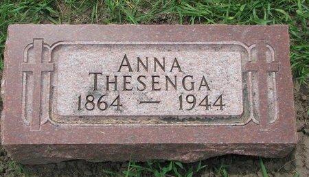 THESENGA, ANNA - Union County, South Dakota   ANNA THESENGA - South Dakota Gravestone Photos