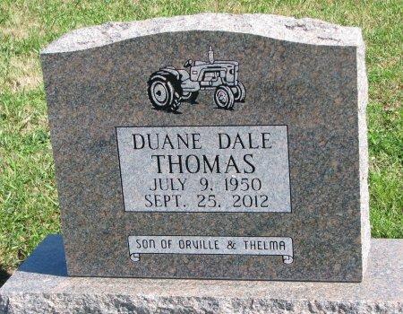 THOMAS, DUANE DALE - Union County, South Dakota   DUANE DALE THOMAS - South Dakota Gravestone Photos