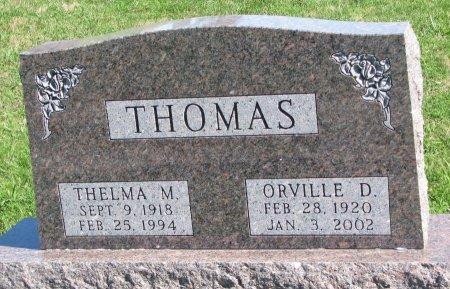 THOMAS, THELMA M. - Union County, South Dakota | THELMA M. THOMAS - South Dakota Gravestone Photos