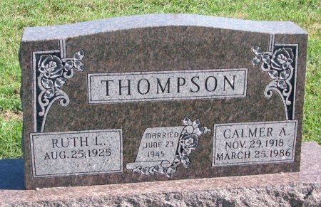 THOMPSON, CALMER A. - Union County, South Dakota | CALMER A. THOMPSON - South Dakota Gravestone Photos