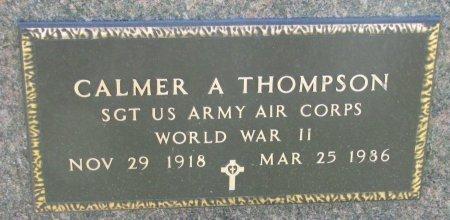 THOMPSON, CALMER A. (WORLD WAR II) - Union County, South Dakota | CALMER A. (WORLD WAR II) THOMPSON - South Dakota Gravestone Photos