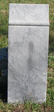 THURSTON, WILLIE B. - Union County, South Dakota | WILLIE B. THURSTON - South Dakota Gravestone Photos