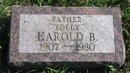 "TOLLEFSON, HAROLD B. ""TOLLY"" - Union County, South Dakota 