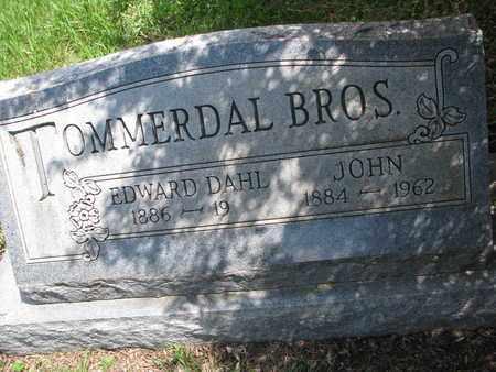 TOMMERDAL, JOHN - Union County, South Dakota | JOHN TOMMERDAL - South Dakota Gravestone Photos
