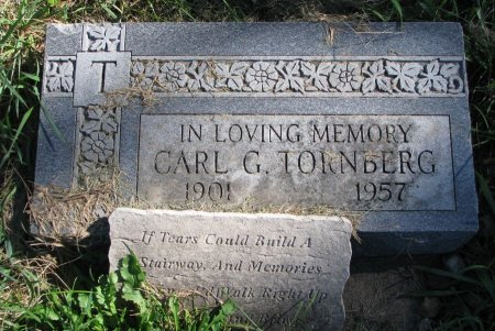 TORNBERG, CARL G. - Union County, South Dakota | CARL G. TORNBERG - South Dakota Gravestone Photos