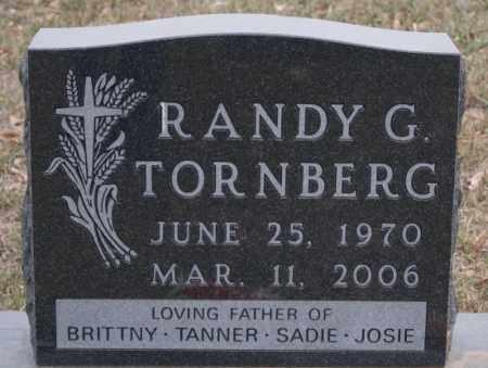 TORNBERG, RANDY G - Union County, South Dakota | RANDY G TORNBERG - South Dakota Gravestone Photos