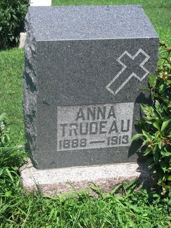TRUDEAU, ANNA - Union County, South Dakota   ANNA TRUDEAU - South Dakota Gravestone Photos