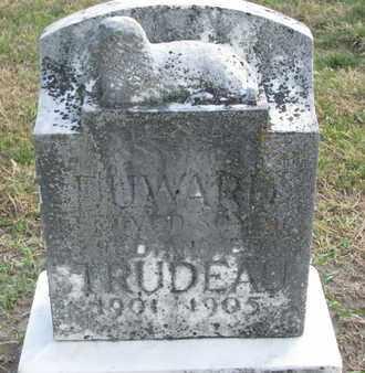 TRUDEAU, DUWARD - Union County, South Dakota | DUWARD TRUDEAU - South Dakota Gravestone Photos