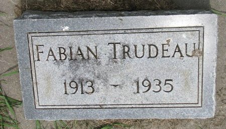 TRUDEAU, FABIAN - Union County, South Dakota   FABIAN TRUDEAU - South Dakota Gravestone Photos
