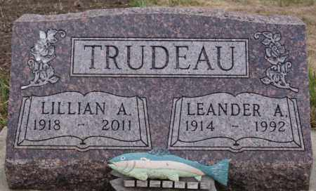 TRUDEAU, LEANDER A - Union County, South Dakota | LEANDER A TRUDEAU - South Dakota Gravestone Photos
