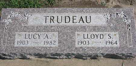 TRUDEAU, LUCY A. - Union County, South Dakota | LUCY A. TRUDEAU - South Dakota Gravestone Photos