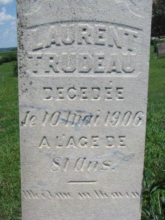 TRUDEAU, LAURENT #1 (CLOSEUP) - Union County, South Dakota | LAURENT #1 (CLOSEUP) TRUDEAU - South Dakota Gravestone Photos