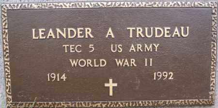 TRUDEAU, LEANDER A (WORLD WAR II) - Union County, South Dakota | LEANDER A (WORLD WAR II) TRUDEAU - South Dakota Gravestone Photos