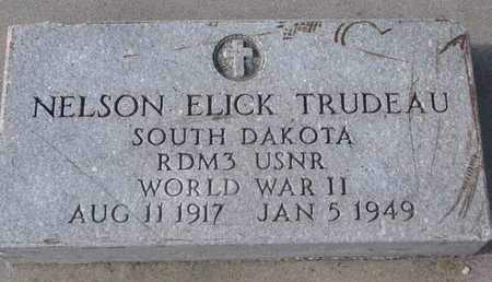TRUDEAU, NELSON ELICK (WORLD WAR II) - Union County, South Dakota | NELSON ELICK (WORLD WAR II) TRUDEAU - South Dakota Gravestone Photos