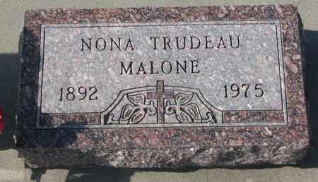 TRUDEAU, NONA - Union County, South Dakota | NONA TRUDEAU - South Dakota Gravestone Photos