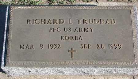 TRUDEAU, RICHARD L. - Union County, South Dakota | RICHARD L. TRUDEAU - South Dakota Gravestone Photos