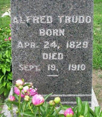 TRUDO, ALFRED (CLOSEUP) - Union County, South Dakota | ALFRED (CLOSEUP) TRUDO - South Dakota Gravestone Photos