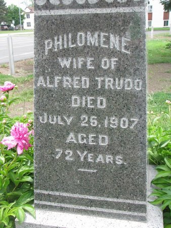 TRUDO, PHILOMENE (CLOSEUP) - Union County, South Dakota | PHILOMENE (CLOSEUP) TRUDO - South Dakota Gravestone Photos