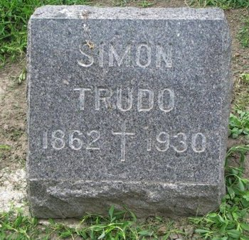 TRUDO (TRUDEAU), SIMON - Union County, South Dakota | SIMON TRUDO (TRUDEAU) - South Dakota Gravestone Photos