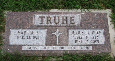 TRUHE, MARTHA ELIZABETH - Union County, South Dakota   MARTHA ELIZABETH TRUHE - South Dakota Gravestone Photos