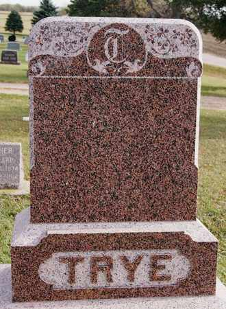 TRYE, *FAMILY MARKER - Union County, South Dakota | *FAMILY MARKER TRYE - South Dakota Gravestone Photos
