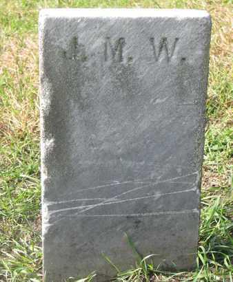 UNKNOWN, J.M.W. - Union County, South Dakota | J.M.W. UNKNOWN - South Dakota Gravestone Photos