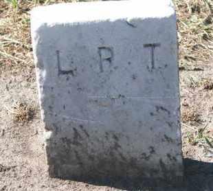 UNKNOWN, L.R.T. - Union County, South Dakota   L.R.T. UNKNOWN - South Dakota Gravestone Photos