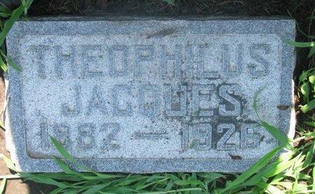 JACQUES, THEOPHILOUS - Union County, South Dakota   THEOPHILOUS JACQUES - South Dakota Gravestone Photos