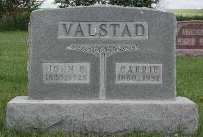 SEVERSON VALSTAD, CARRIE - Union County, South Dakota | CARRIE SEVERSON VALSTAD - South Dakota Gravestone Photos