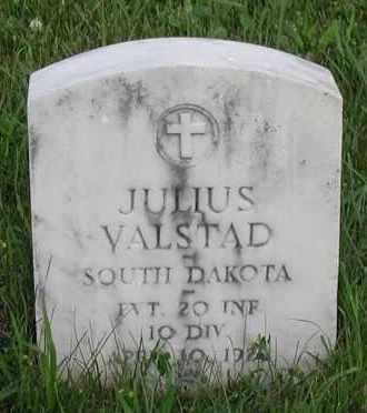 VALSTAD, JULIUS (WWI) - Union County, South Dakota | JULIUS (WWI) VALSTAD - South Dakota Gravestone Photos