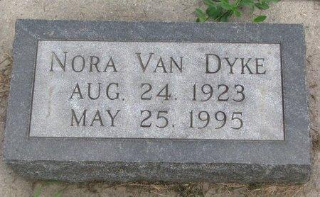 VAN DYKE, NORA - Union County, South Dakota | NORA VAN DYKE - South Dakota Gravestone Photos