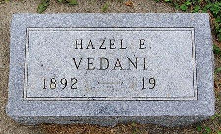 VEDANI, HAZEL E - Union County, South Dakota | HAZEL E VEDANI - South Dakota Gravestone Photos