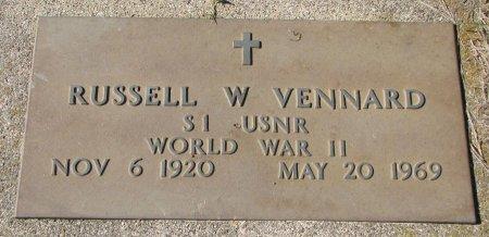 VENNARD, RUSSELL W. (WORLD WAR II) - Union County, South Dakota   RUSSELL W. (WORLD WAR II) VENNARD - South Dakota Gravestone Photos