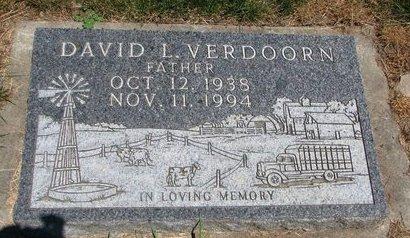 VERDOORN, DAVID LEROY - Union County, South Dakota | DAVID LEROY VERDOORN - South Dakota Gravestone Photos