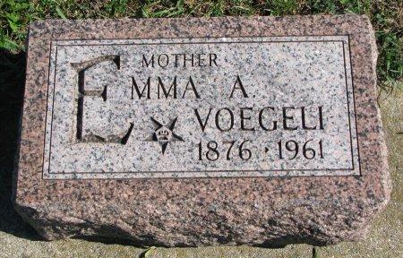MILLER VOEGELI, EMMA AMANDA - Union County, South Dakota | EMMA AMANDA MILLER VOEGELI - South Dakota Gravestone Photos