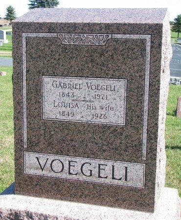 VOEGELI, GABRIEL - Union County, South Dakota | GABRIEL VOEGELI - South Dakota Gravestone Photos