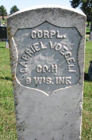 VOEGELI, GABRIEL (CIVIL WAR) - Union County, South Dakota | GABRIEL (CIVIL WAR) VOEGELI - South Dakota Gravestone Photos