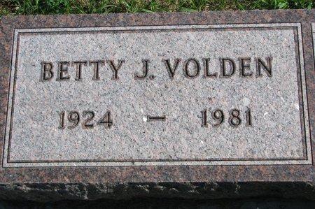 VOLDEN, BETTY JEAN - Union County, South Dakota | BETTY JEAN VOLDEN - South Dakota Gravestone Photos