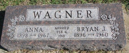 WAGNER, BRYAN J. - Union County, South Dakota | BRYAN J. WAGNER - South Dakota Gravestone Photos