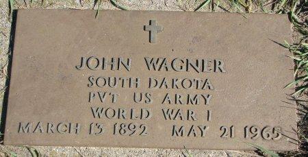 WAGNER, JOHN (WORLD WAR I) - Union County, South Dakota   JOHN (WORLD WAR I) WAGNER - South Dakota Gravestone Photos