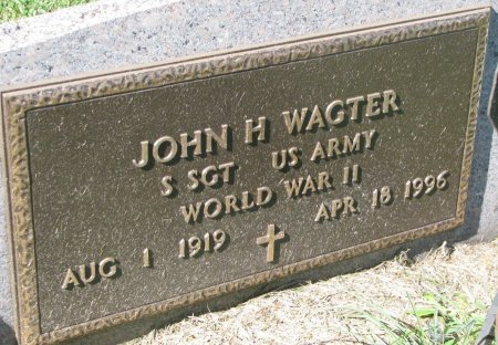WAGTER, JOHN H. (WORLD WAR II) - Union County, South Dakota | JOHN H. (WORLD WAR II) WAGTER - South Dakota Gravestone Photos