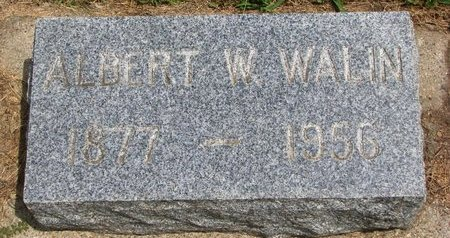 WALIN, ALBERT W. - Union County, South Dakota | ALBERT W. WALIN - South Dakota Gravestone Photos