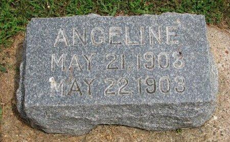WALIN, ANGELINE - Union County, South Dakota   ANGELINE WALIN - South Dakota Gravestone Photos