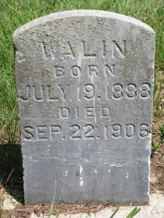 WALIN, MABEL - Union County, South Dakota   MABEL WALIN - South Dakota Gravestone Photos