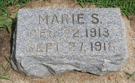 WALIN, MARIE S. - Union County, South Dakota   MARIE S. WALIN - South Dakota Gravestone Photos