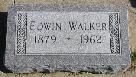 WALKER, EDWIN - Union County, South Dakota | EDWIN WALKER - South Dakota Gravestone Photos