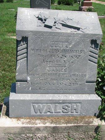 WALSH, JULIA - Union County, South Dakota | JULIA WALSH - South Dakota Gravestone Photos