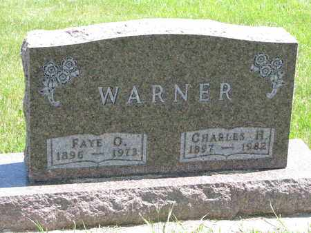 LEACH WARNER, FAYE OLEO - Union County, South Dakota | FAYE OLEO LEACH WARNER - South Dakota Gravestone Photos
